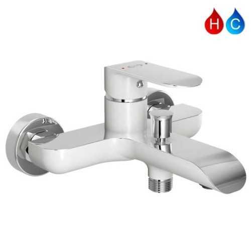 Aer Kran Bathub Shower - Keran Air Panas Dingin Kuningan Sah By1 BathroomBathroom TapsBathtub Taps