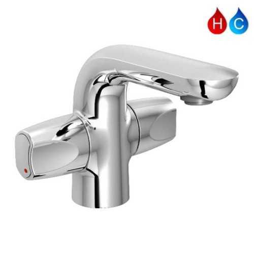 Aer Kran Wastafel - Keran Air Panas Dingin Kuningan Sah Wk1 BathroomBathroom TapsWashbasin Taps