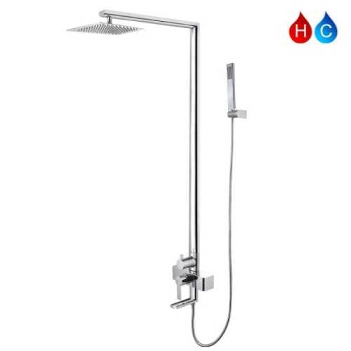 Aer Mixer Bathub Shower Set Panas-Dingin, Kran Air, Keran Mbs-2 BathroomBathroom TapsShower Taps