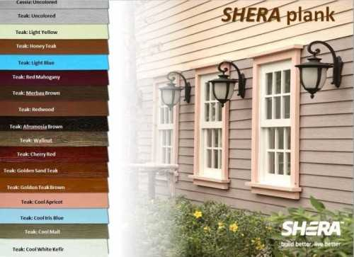 Wood-Shera Plank FinishesWall Covering3D Wall Claddings