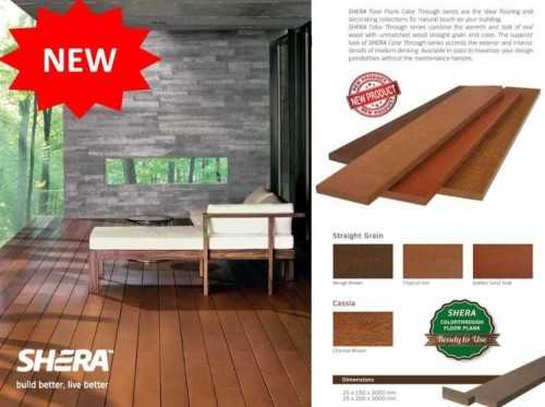 Foto produk Wall Covering Wood-Shera Color Through Series di Arsitag