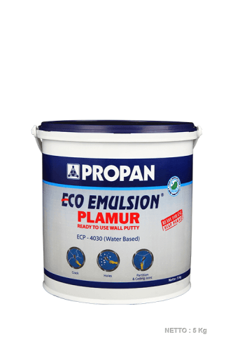 Cat Tembok Interior&primer-Eco Emulsion Plamur Ecp-4030 ConstructionPaints And VarnishesWater Repellent Water-Based Paints