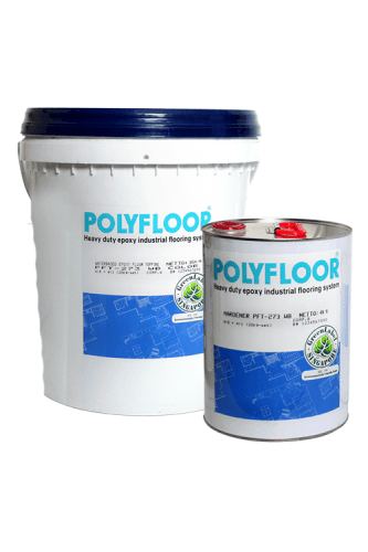 Cat Lantai-Polyfloor Pft-273 Wb ConstructionPaints And VarnishesWater Repellent Water-Based Paints
