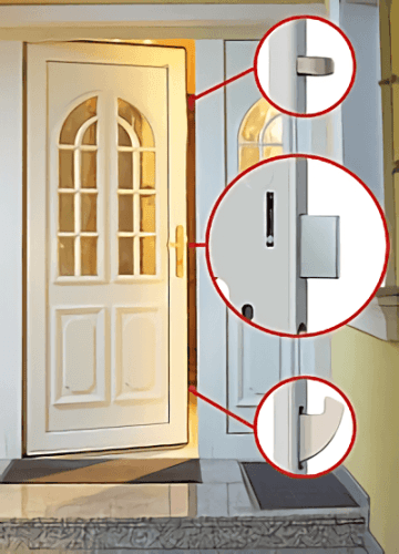 Roto Safe E ConstructionHardware And FastenersDoor And Window Furniture