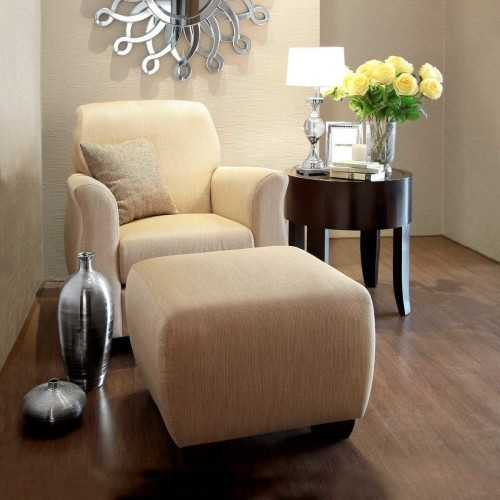 Living Room Chairs&daybeds-Armchairs,lounge Chairs&ottoman/our Collections Riviera (Riviera Wing Chair + Ottoman) FurnitureSofa And ArmchairsArmchairs