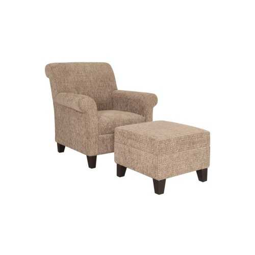 Living Room Chairs&daybeds-Armchairs,lounge Chairs&ottoman/our Collections Samara (Samara Wing Chair + Ottoman) FurnitureSofa And ArmchairsArmchairs
