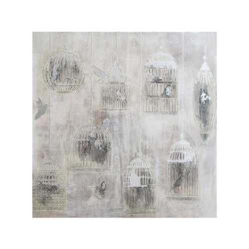 Our Collections Vl Brio-Laura Birdcages On Canvas DécorArt And PrintsPaintings And Prints