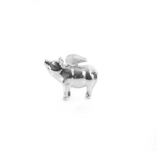 Our Collections Vl Brio-Nicole Flying Pig (S) DécorHome DecorationsDecorative Objects